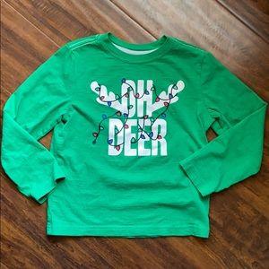 Crazy 8 Christmas Shirt 5t